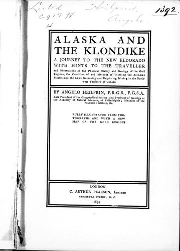 Download Alaska and the Klondike