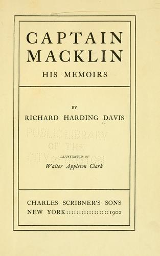 Download Captain Macklin: his memoirs