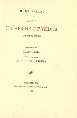Download About Catherine de' Medici