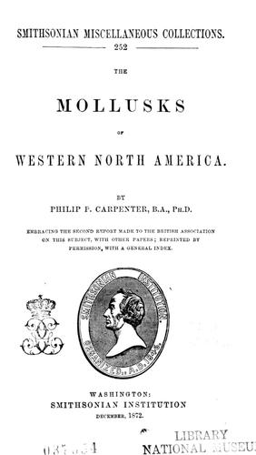 The mollusks of western North America