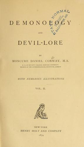 Download Demonology and devil-lore