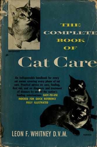 Download The complete book of cat care.