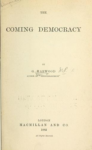 Download The coming democracy.