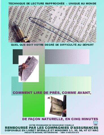 Download How to read fine print once more – Special close-up reading technique (French)