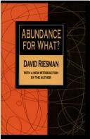 Download Abundance for what?