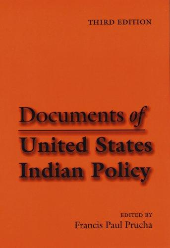 Download Documents of United States Indian Policy