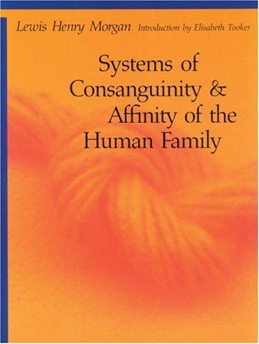 Download Systems of consanguinity and affinity of the human family