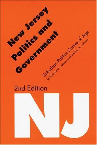 Download New Jersey politics and government
