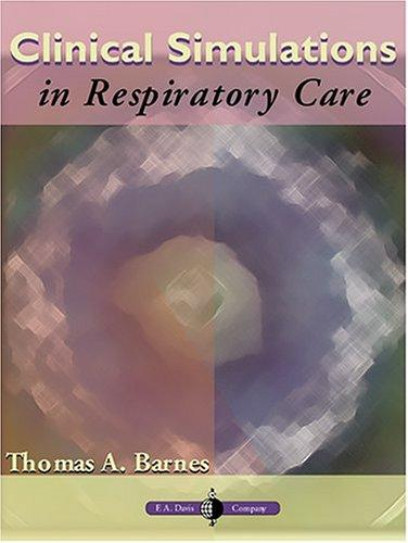 Download Clinical Simulations in Respiratory Care