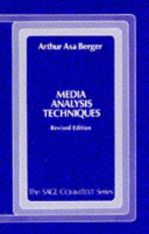 Download Media analysis techniques