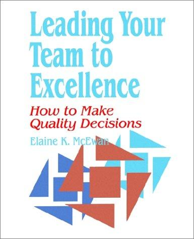 Download Leading your team to excellence