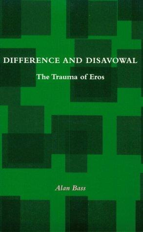 Download Difference and Disavowal