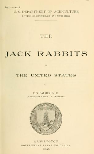 Download The jack rabbits of the United States.
