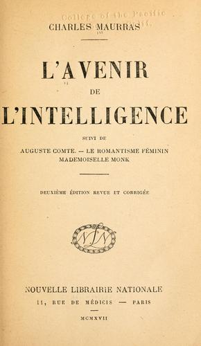 Download L' avenir de l'intelligence