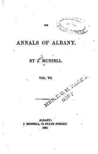 The Annals of Albany