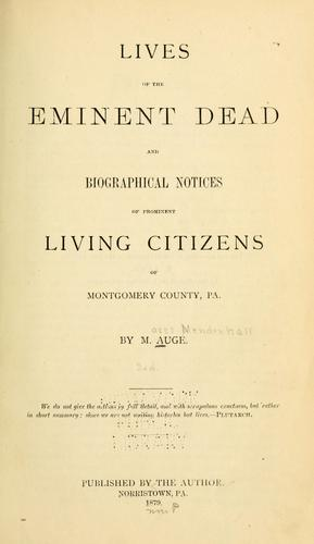 Download Lives of the eminent dead