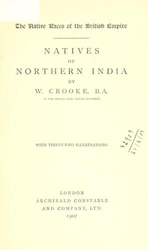 Natives of northern India.