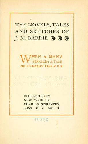 Download The novels, tales and sketches of J.M. Barrie …