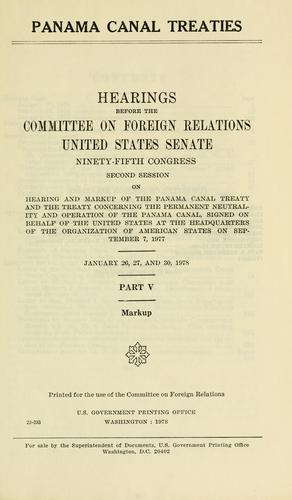 Download Panama Canal treaties