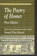The poetry of Homer