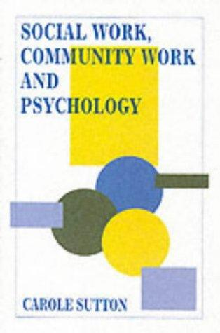 Download Social Work, Community Work and Psychology