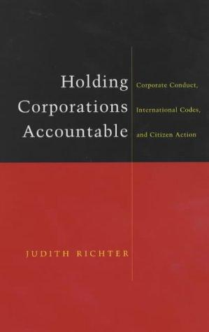 Holding Corporations Accountable