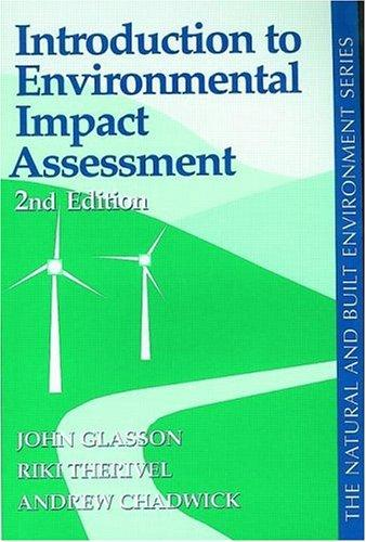 Download Introduction to environmental impact assessment