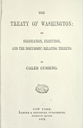 Download The Treaty of Washington