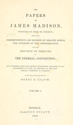 Download The papers of James Madison