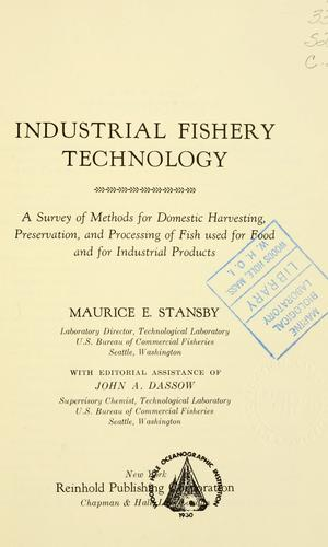 Download Industrial fishery technology