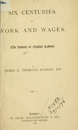 Download Six centuries of work and wages