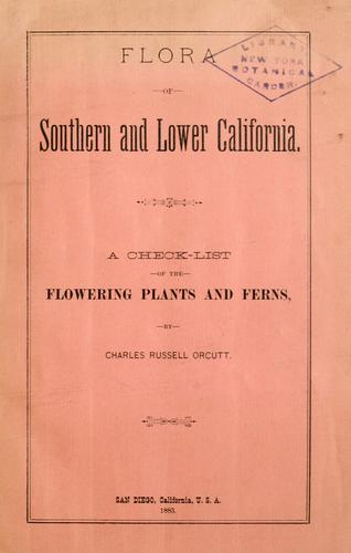 Download Flora of southern and Lower California
