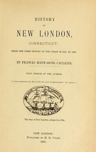 Download History of New London, Connecticut