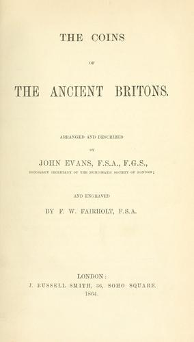 The coins of the ancient Britons.