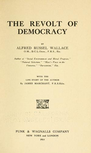 The revolt of democracy