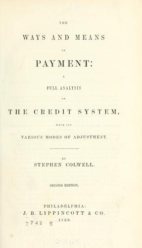 Download Ways & means of payment