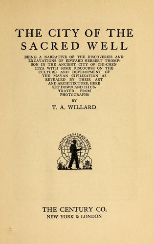 Download The city of the sacred well