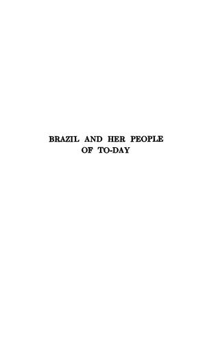 Download Brazil and her people of to-day
