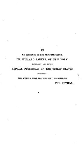 History of medical education and institutions in the United States, from the first settlement of the British colonies to the year 1850