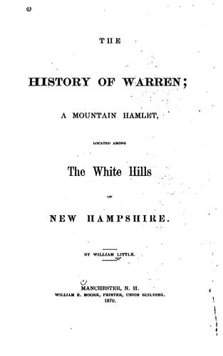 Download The history of Warren