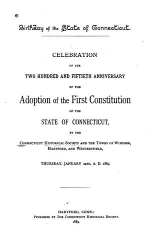 Download Birthday of the State of Connecticut.