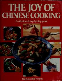 Cover of: The Joy of Chinese Cooking | Lo Mei Hing