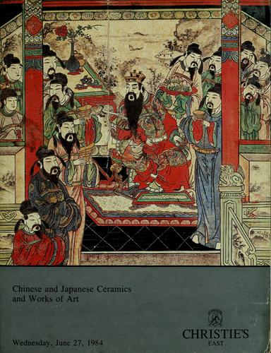 Chinese and japanese ceramics and works of art by