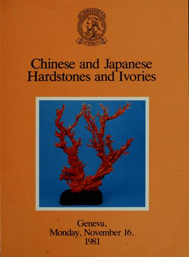 Chinese and Japanese hardstones and ivories by
