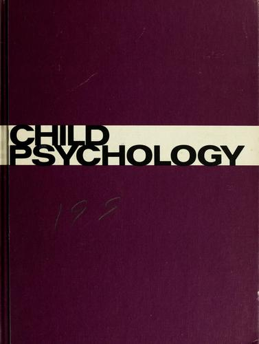 Child psychology by Wallace A. Kennedy