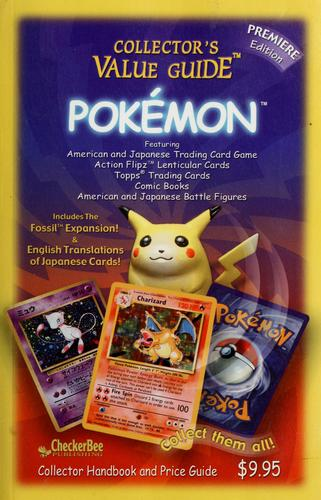 Collector's value guide Pokémon by