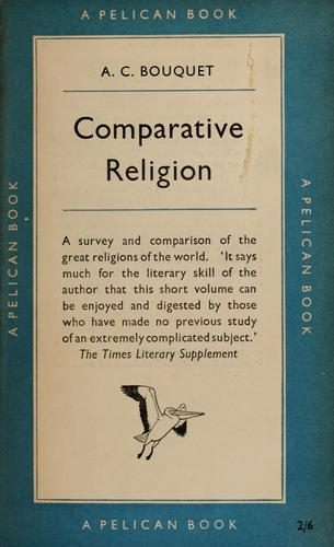 Comparative religion by Alan Coates Bouquet
