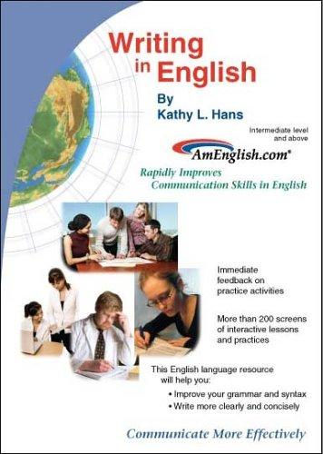 Writing in English by Kathy L. Hans