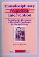 Transdisciplinary play-based intervention by Toni W. Linder