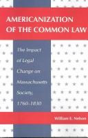 Americanization of the common law
